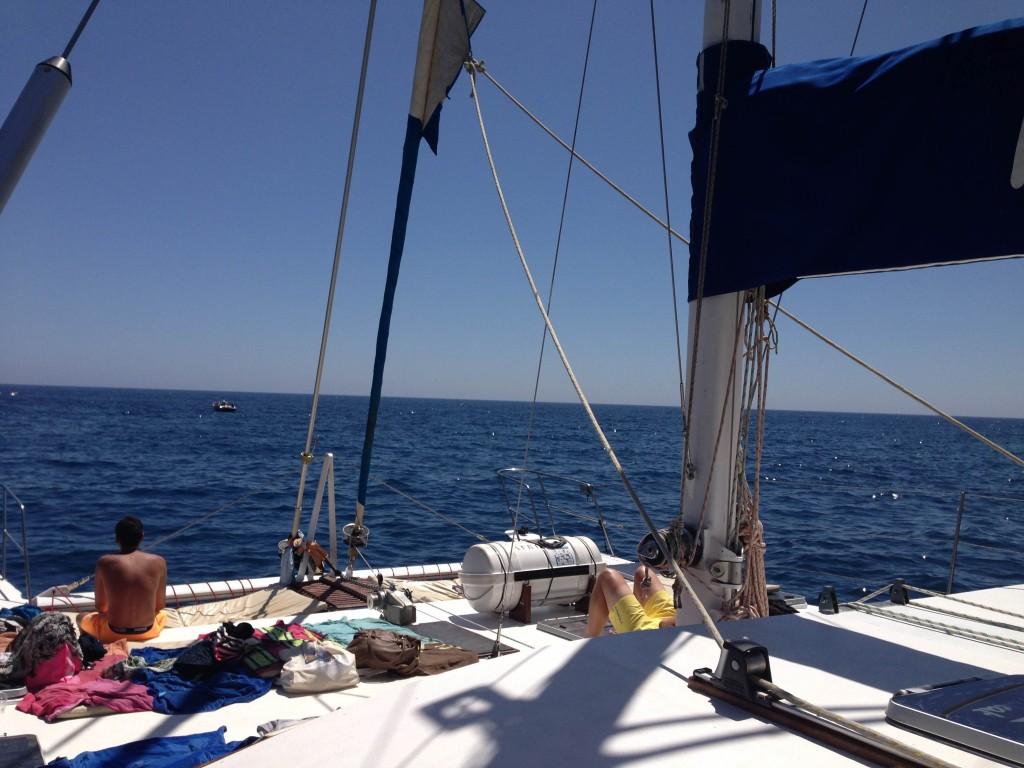 Een dagje weggeweest op een boottocht langs Gran Canaria. Duiken, op de jet ski en lekker eten en drinken!