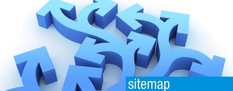 sitemap header afbeelding wordpress