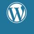 wordpress logo header afbeelding