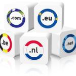 Extensies van domeinnamen, onder andere .nl of .com