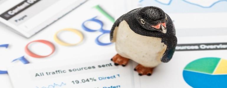 google penguin header afbeelding