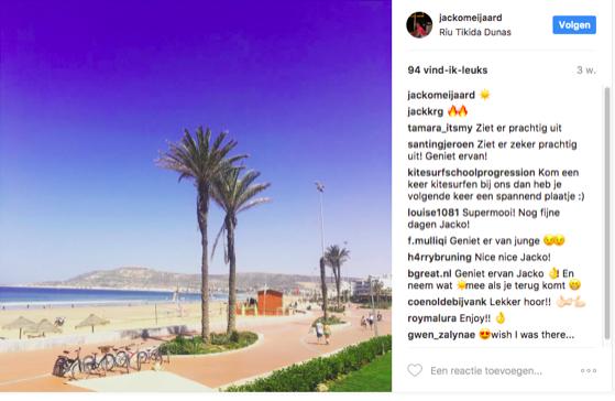 geld verdienen met affiliate marketing op vakantie