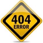een afbeelding van een 404 error pagina