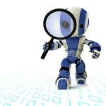een robot wat staat voor backlinks checken