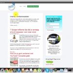 Een screenshot van een video op Internet Succes Gids.nl