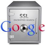 Het Google logo op een kluis