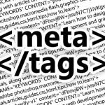 een afbeelding van meta tags waarin keyword tags onderdeel zijn
