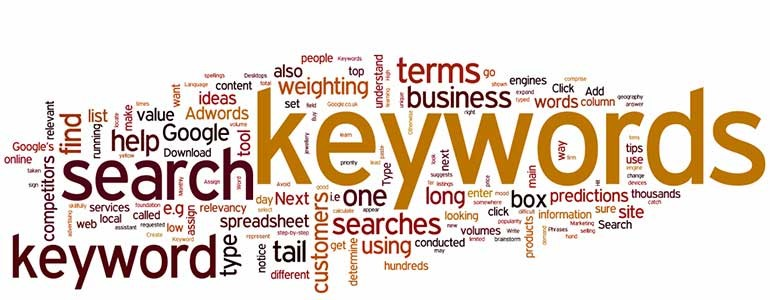 keywords header