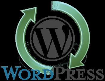 Een afbeelding en logo van WordPress updaten