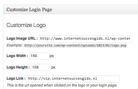 Het wordpress logo veranderen is erg makkelijk dankzij deze plugin