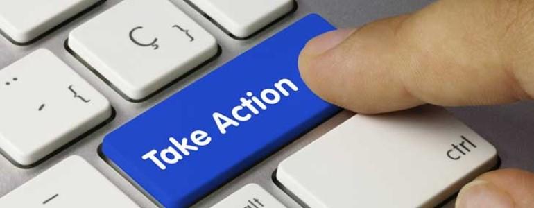 actie ondernemen header