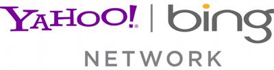 het logo van het Yahoo en Bing network logo (media.net)