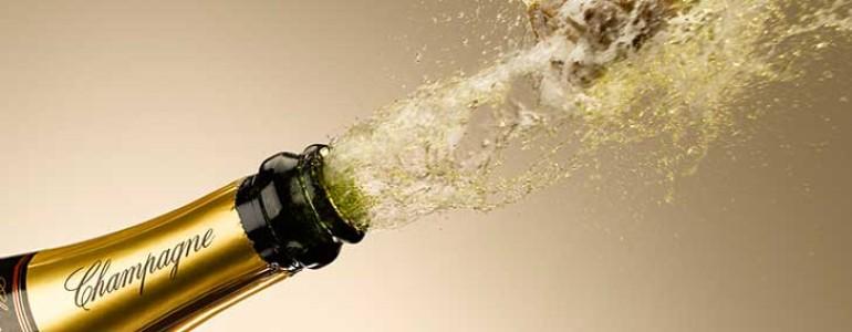 champagne header