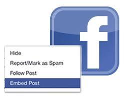 Facebook berichten insluiten op je website?