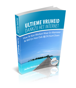 E-book cover Ultieme Vrijheid Methode