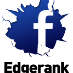 Het 'logo' van Facebook EdgeRank