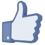 Vind ik leuk Facebook knop