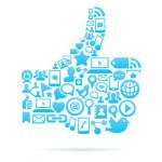 Social media WordPress plugins in een Facebook icoon