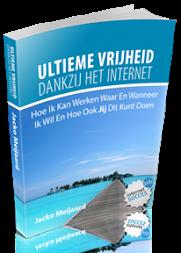 De ebook cover van de Ultieme Vrijheid Methode