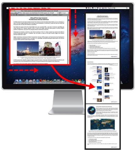 Volledige screenshot van je website maken