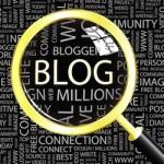 Bloggen in een vergrootglas