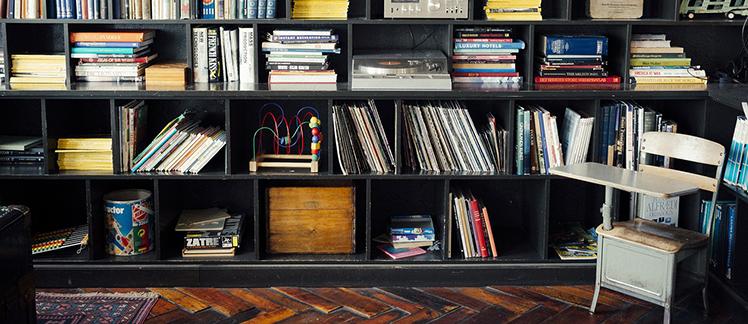 een bibliotheek als een kennisbank
