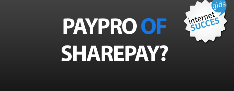 PayPro of Sharepay?