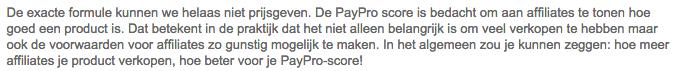 paypro score