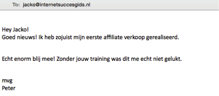 testimonial isg affiliate marketing revolutie