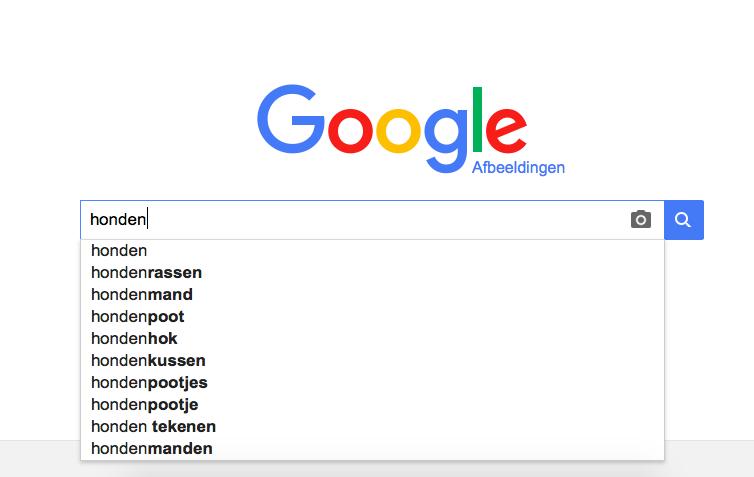 zoekvak google afbeeldingen