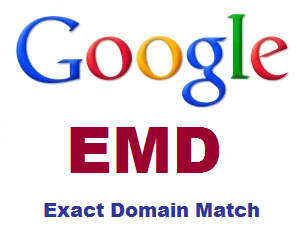 google emd domein website