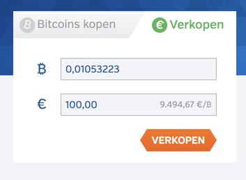 bitcoins verkopen bij Bitonic