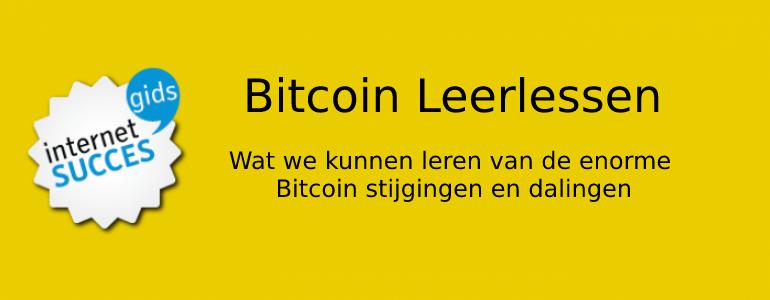 bitcoin leerlessen