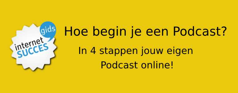 podcast beginnen header