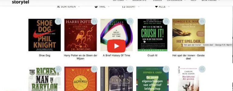 boeken lezen storytel