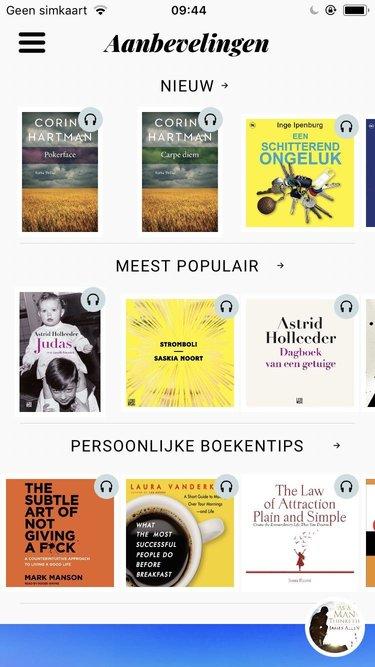 persoonlijke boekenplank storytel