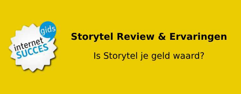 storytel review header