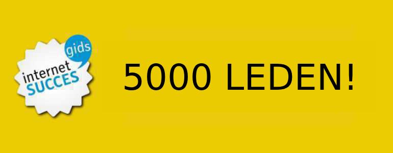 5000 leden